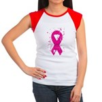 Breast Cancer Women's Cap Sleeve T-Shirt