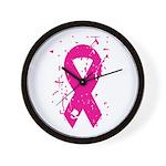 Breast Cancer Wall Clock