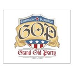 GOP Grand Old Party Small Poster