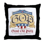 GOP Grand Old Party Throw Pillow
