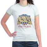 GOP Grand Old Party Jr. Ringer T-Shirt