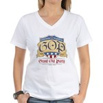 GOP Grand Old Party Women's V-Neck T-Shirt