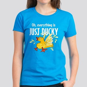 everything is just ducky Women's Dark T-Shirt