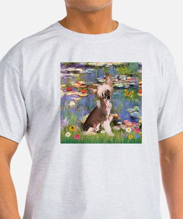 Lilies/Chinese Crested T-Shirt