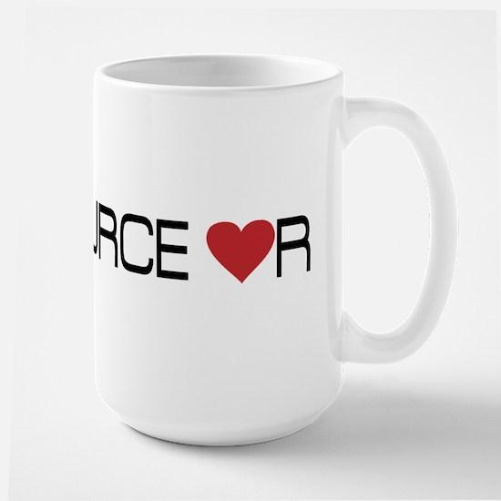 OPEN SOURCE lUVR Large Mug