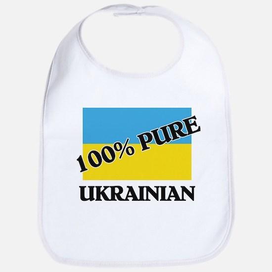 100 Percent UKRAINIAN Bib