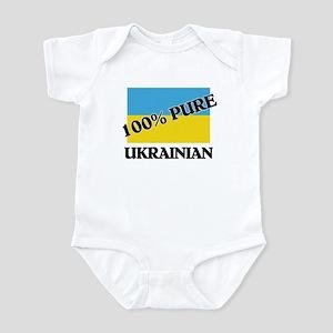 100 Percent UKRAINIAN Infant Bodysuit