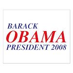 Barack Obama President 2008 Small Poster