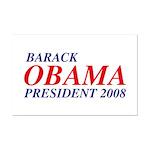 Barack Obama President 2008 Mini Poster Print