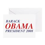 Barack Obama President 2008 Greeting Cards (20)