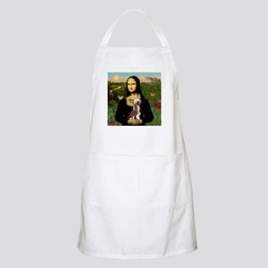 Mona Lisa Chinese Crested BBQ Apron