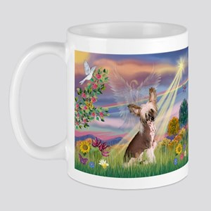 Cloud Angel/Chinese Crested Mug