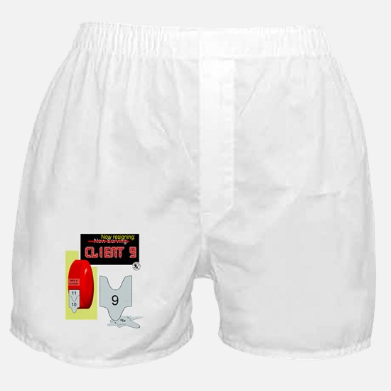 Client 9 Resigns Boxer Shorts