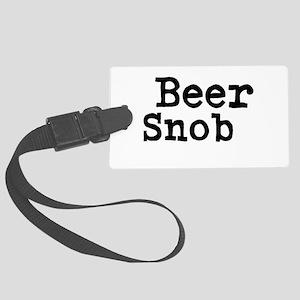 Beer Snob Luggage Tag