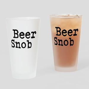 Beer Snob Drinking Glass