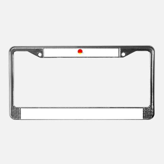 Jonas License Plate Frame