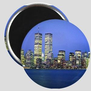 New York City at Night Magnet