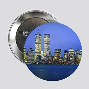 "New York City at Night 2.25"" Button"