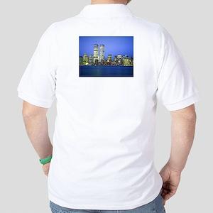 New York City at Night Polo Shirt