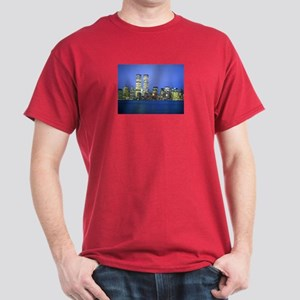 New York City at Night Dark T-Shirt
