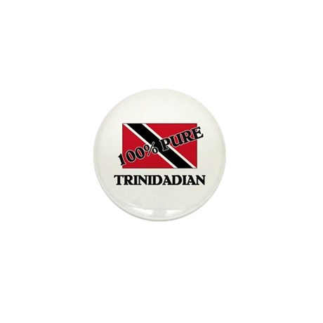100 Percent TRINIDADIAN Mini Button (10 pack)