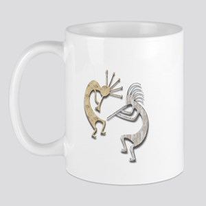 Two Kokopelli #115 Mug