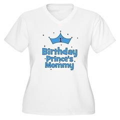 1st Birthday Prince's Mommy! T-Shirt
