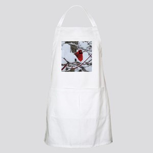 Snow Cardinal Light Apron