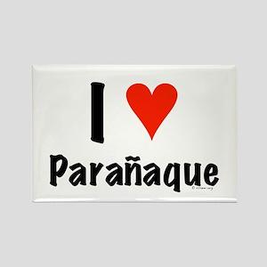 I love Paranaque Rectangle Magnet