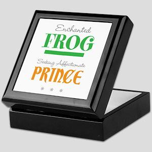 Enchanted Frog Keepsake Box