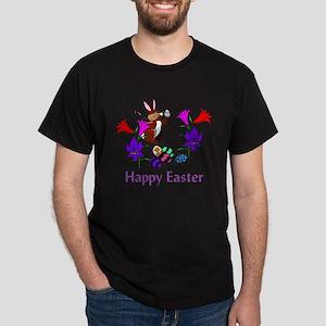 Painted Bunny Eggs Dark T-Shirt