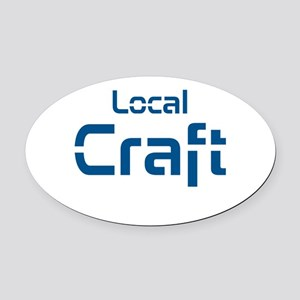 Local Craft Oval Car Magnet