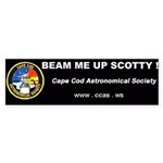 10 pack of Beam me up Scotty Bumper Stickers