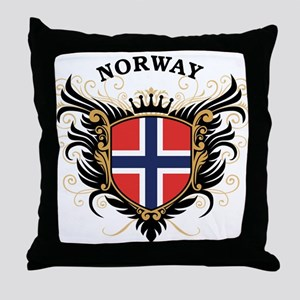 Norway Throw Pillow