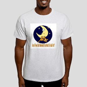 Few Dull Moments Cat Ash Grey T-Shirt