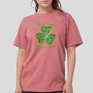 Funny Glitter Shamrock Shirt T-Shirt