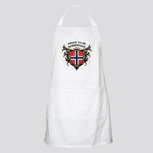Proud to be Norwegian BBQ Apron