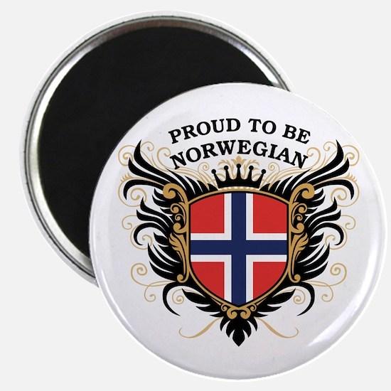 Proud to be Norwegian Magnet