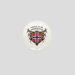 Proud to be Norwegian Mini Button