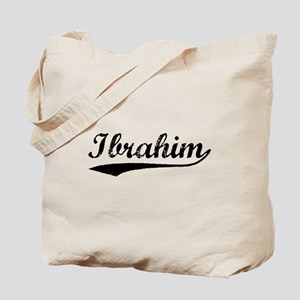 Vintage Ibrahim (Black) Tote Bag