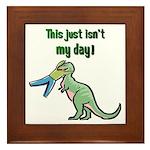 BAD DAY Framed Tile