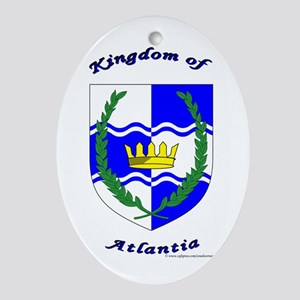 Atlantia Oval Ornament