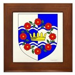 Queen of Atlantia Framed Tile