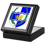 King of Atlantia Keepsake Box