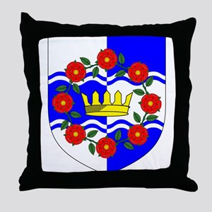 Queen of Atlantia Throne Pillow