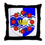 Queen of Atlantia Throne Pillow