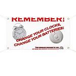Change Smoke Detector Batteries Banner