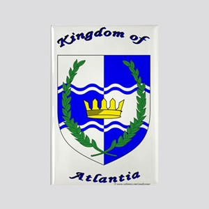 Kingdom of Atlantia Rectangle Magnet