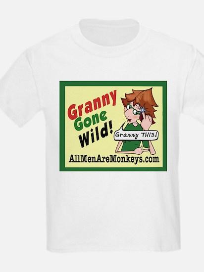 GRANNY Gone Wild Kids T-Shirt