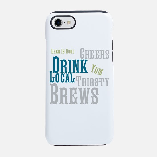 Beer Is Good iPhone 8/7 Tough Case